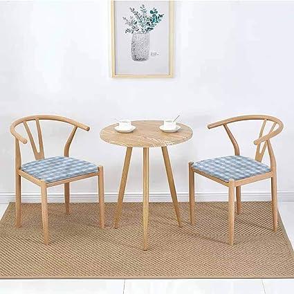 Cojín cuadrado para silla de comedor con diseño geométrico ...