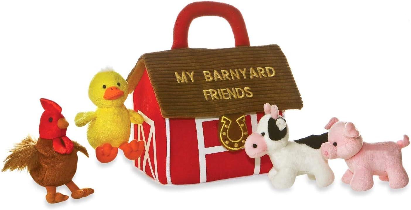 My Barnyard Friends Mini-Plush Set Aurora My Baby Talk Play Set