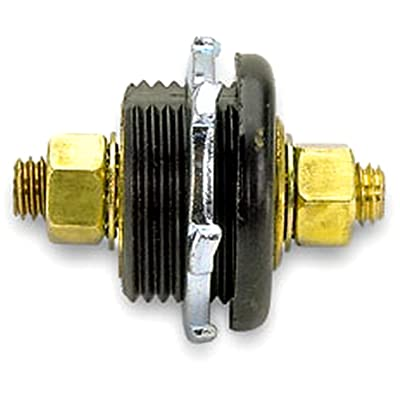 Moroso 74145 Black Thru Panel Connector: Automotive