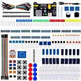 Emakefun Electronics Component Fun Kit Power Supply Module,Jumper Wire,Potentiometer,Breadboard,Resistor,Capacitor,LED Arduino UNO,MEGA2560,Raspberry Pi