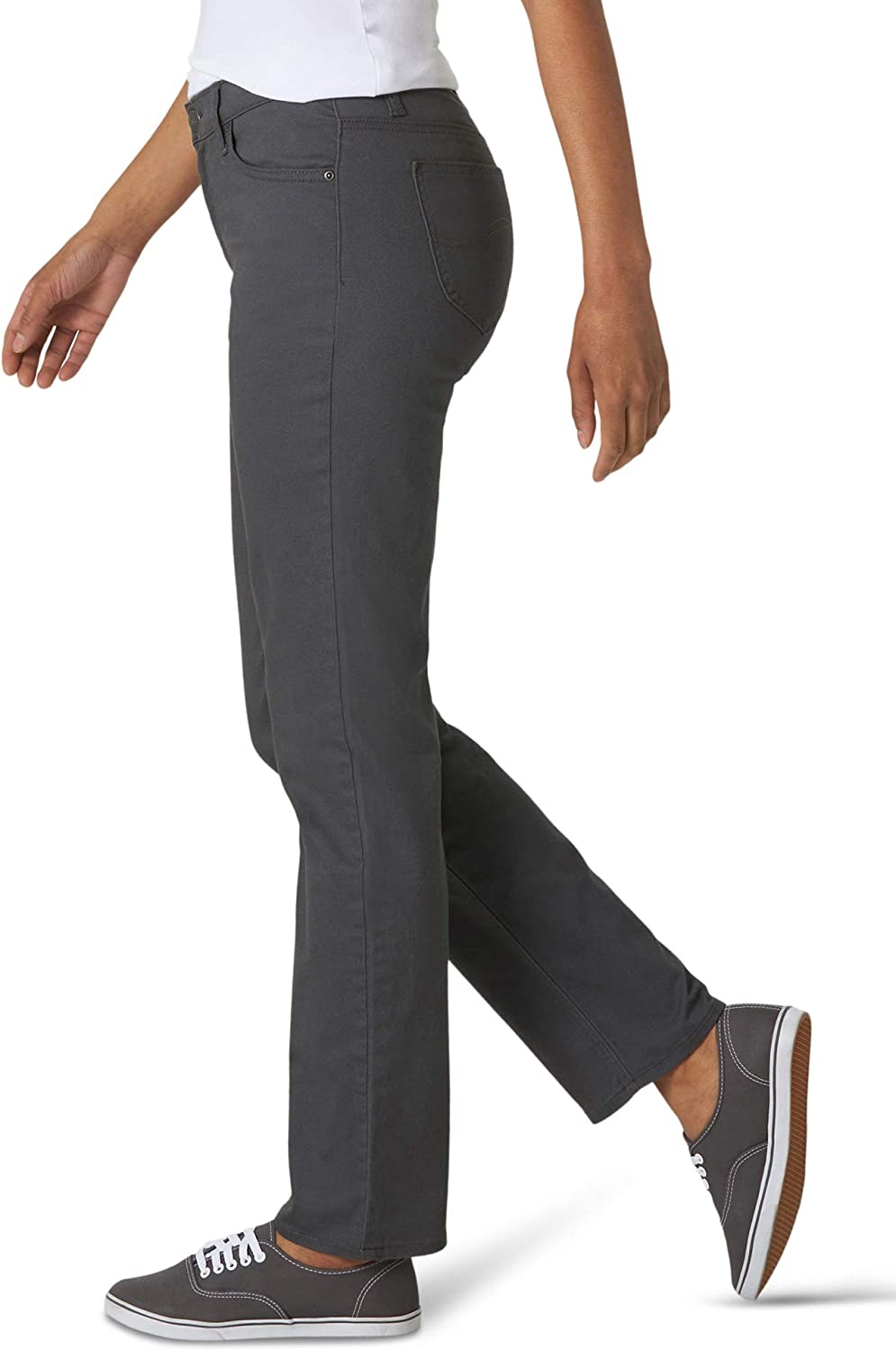 Lee Womens Relaxed Fit Straight-Leg Jean