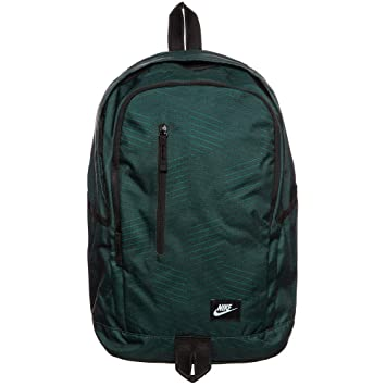 ac345cb49abc Nike All Access Soleday Polyester Fabric 23 L Green School Backpack   Amazon.in  Bags