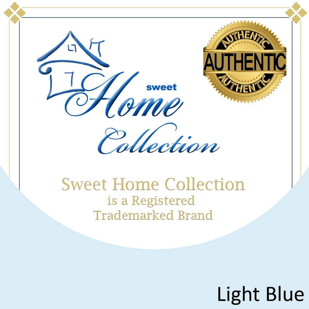 1500 Supreme Collection Extra Soft King Sheets Set, Light Blue - Luxury Bed Sheets Set With Deep Pocket Wrinkle Free Hypoallergenic Bedding, Over 40 Colors, King Size, Light Blue by Sweet Home Collection (Image #4)