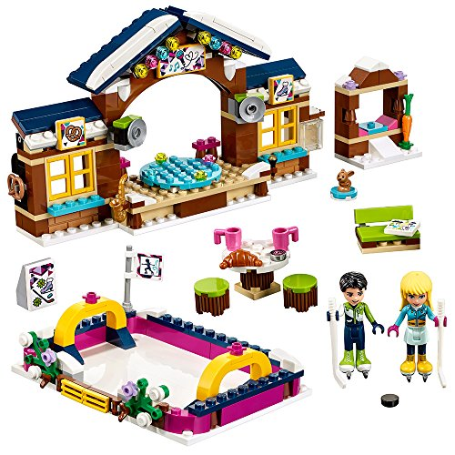 LEGO Friends Snow Resort Ice Rink 41322 Building Kit (307 Piece) (Friends 6 Piece)