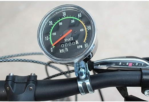 WXX QQBH Montaña mecánica Ciclo de la Bici del odómetro de la Bicicleta del Camino del velocímetro Cronómetro Impermeable clásico: Amazon.es: Hogar