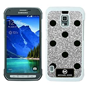 Newest M-K Samsung Galaxy S5 Active Case ,Unique Michael Kors 163 White Samsung Galaxy S5 Active Cover Case Fashion And Durable Designed Phone Case