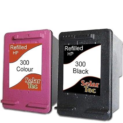 Mejor valor refilled HP 300 XL Cartuchos de tinta: 2 tintas ...