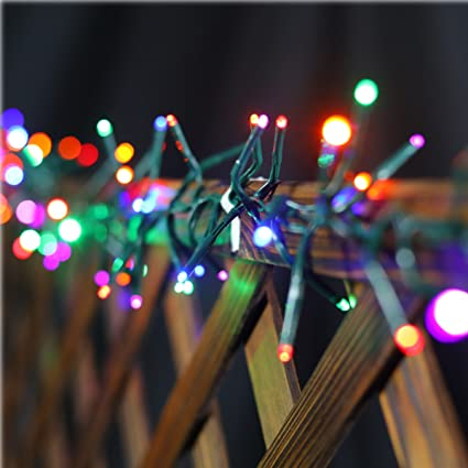 200 led christmas string fairy lights outdoor string lights waterproof 8 flash modes