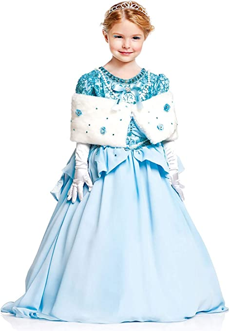 VENEZIANO Disfraz Princesa EN Danza Prestige Vestido Fiesta de ...