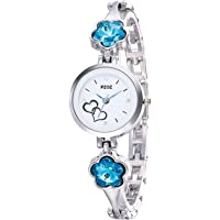 Watches for Girls/Watches for Womens/Watch for Girl/Watch for Women Stylish/Watch for Kids Girls Analogue White Dial Offers