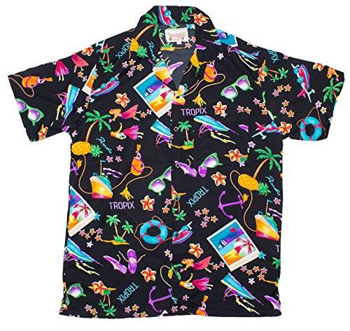 ragstock-mens-tropix-vacation-print-hawaiian-shirt-black-xx-large