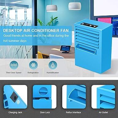 StillCool ventilador refrigerador portátil para aire acondicionado ...