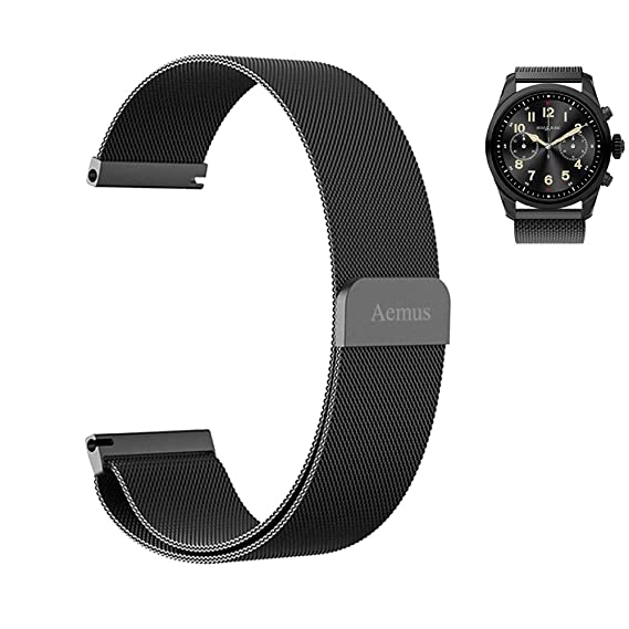 Amazon.com: Aemus Compatible Montblanc Summit 2 Watch Band ...