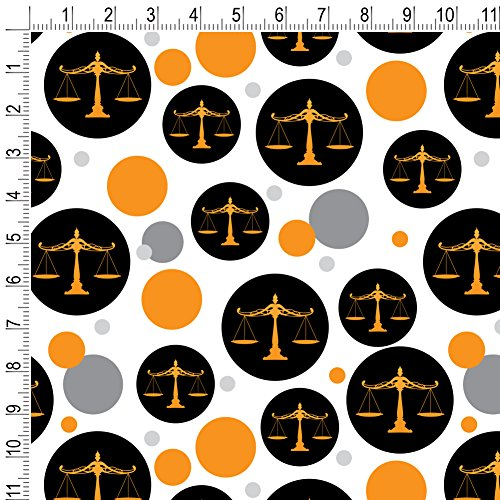 Scales Of Justice Legal Lawyer Premium Gift Wrap Wrapping Paper Roll by Graphics and More (Image #1)