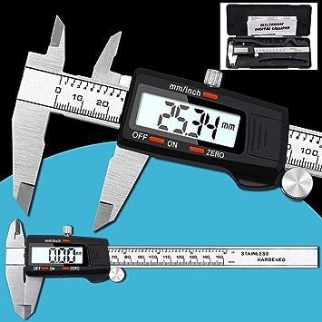 TAOtTAO - Calibrador Digital de Acero Inoxidable (150 mm ...