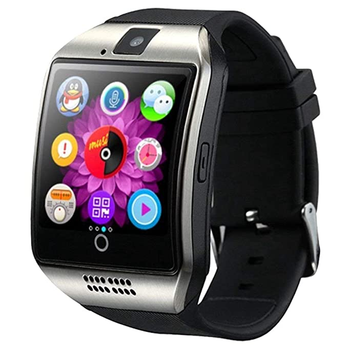 Smart Watch-Bluetooth Smart Watch Android with SIM card slot Camera Touchscreen Smartwatch, Fitness tracker watch with Sleep monitor compatible with ...