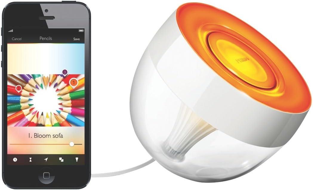 Philips Hue Iris Wireless Table Lamp RGB 10W: Amazon.co.uk