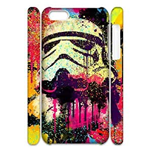 3D Stormtrooper Series, IPhone 5C Case, the Mandos Pop Art. Case for IPhone 5C [White]
