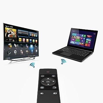 Receptor USB de Control Remoto inalámbrico para proyector Smart TV Box: Amazon.es: Electrónica