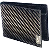 Common Fibers - The MAX 3.0 - Real Carbon Fiber RFID Blocking Bifold Mens Wallet With ID
