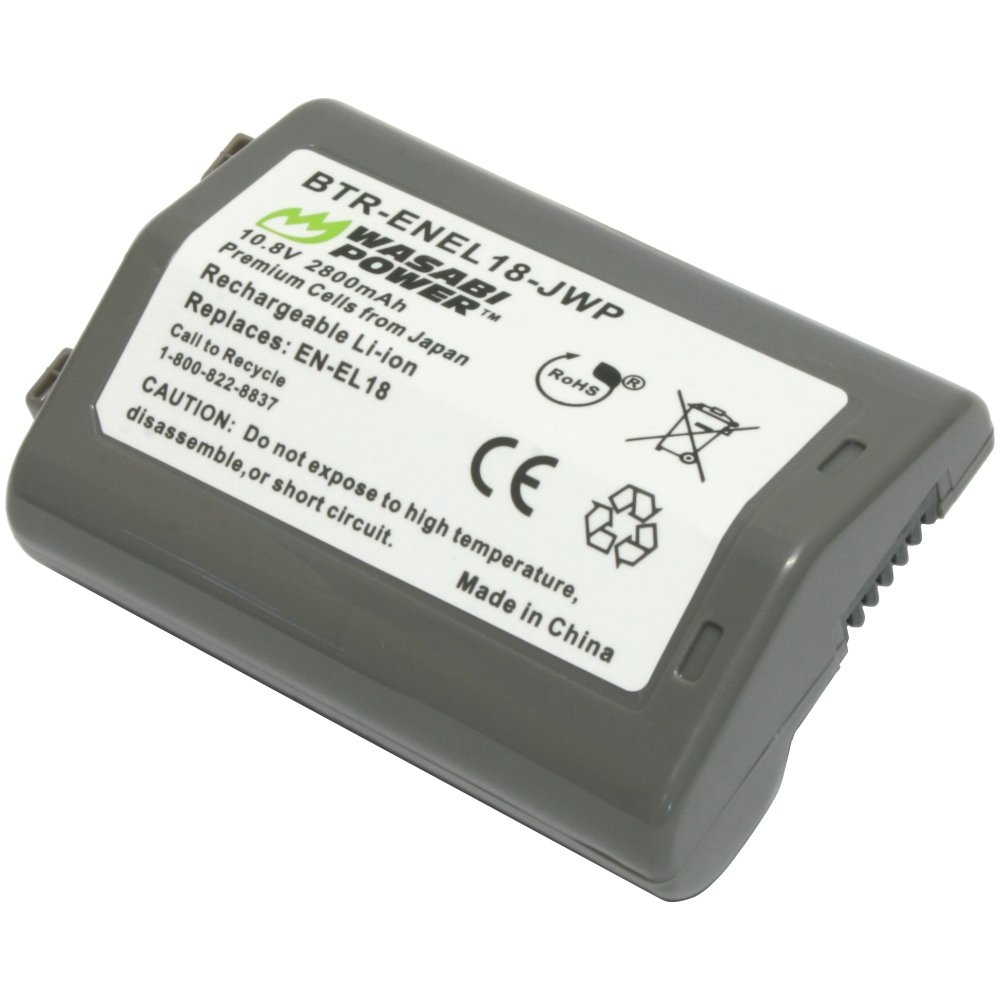 Wasabi Power Battery for Nikon EN-EL18 and Nikon D4, D4S, D5 by Wasabi Power (Image #1)