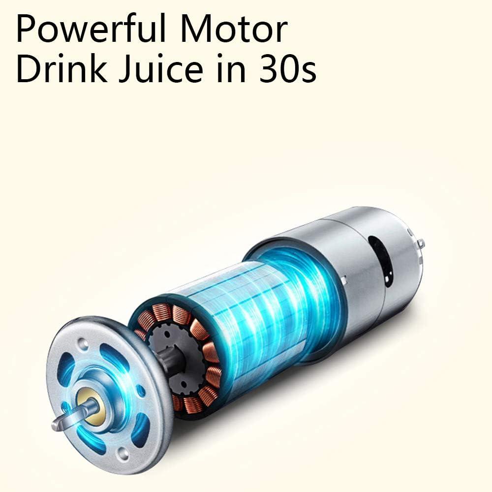 Aobosi Licuadora Prensado en Frio, Extractor de zumos con Motor ...