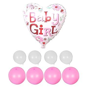 Luftballon Rosa Party Deko Babyparty Ballon Madchen Deko Baby Neu