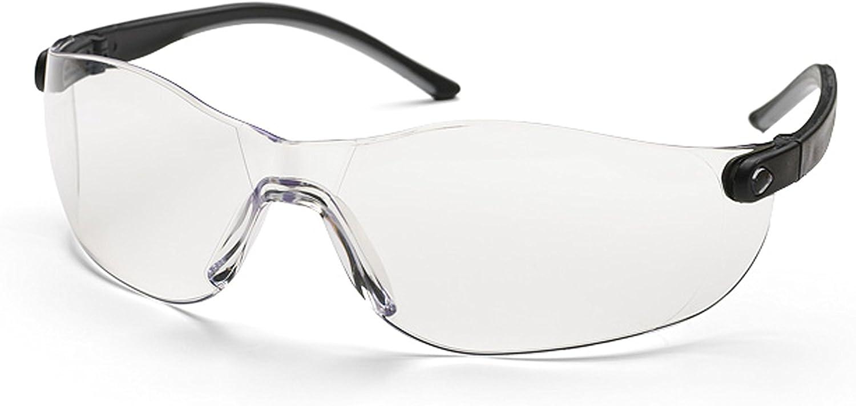 Universal 577616512 Gafas de seguridad PRO012 protegen los ojos de las piezas voladoras, son resistentes a los arañazos y están aprobadas según la norma EN 166, Transparente