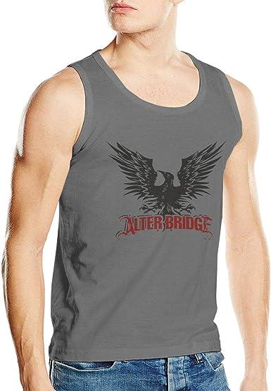 Sleeveless t-shirt white-gray Alter Bridge   Men/'s Tank Top Vest