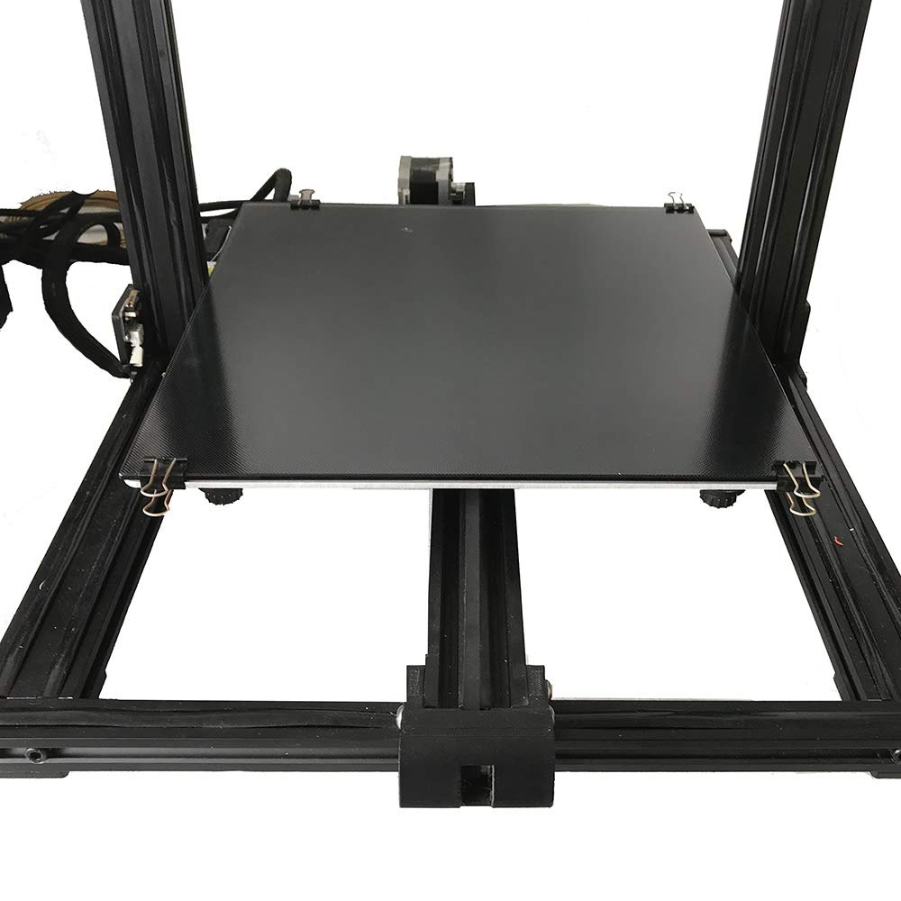 CCTREE Upgraded 3D Printer Ulatrabase Platform Heated Bed Build Surface Glass Plate for Creality CR-10//CR-10S 3D Printer 310x310x4mm