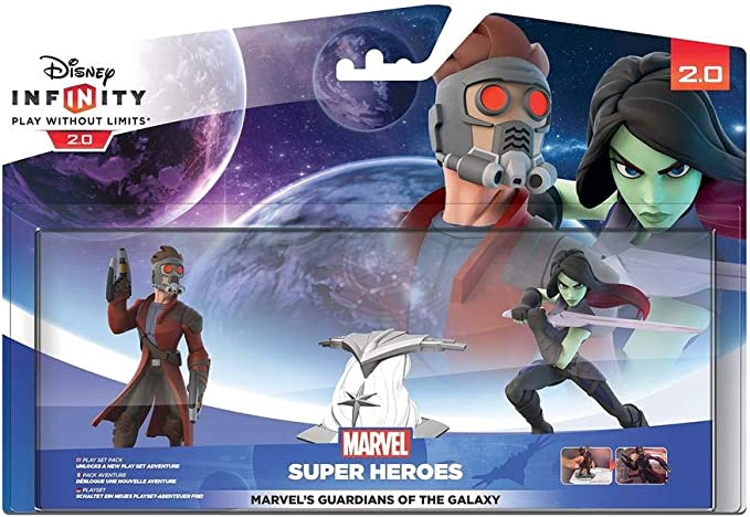 Disney Infinity 2.0 - Play Set Pack Marvel´s Guardians Of The ...