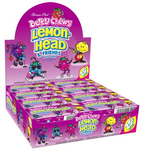 Chewy Lemonhead Berry Candy Packages