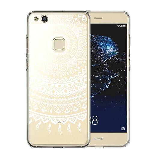 6 opinioni per Cover Huawei P10 Lite, AILRINNI Silicone Custodia Trasparente Morbida Case