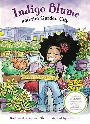 book cover of Indigo Blume and the Garden City