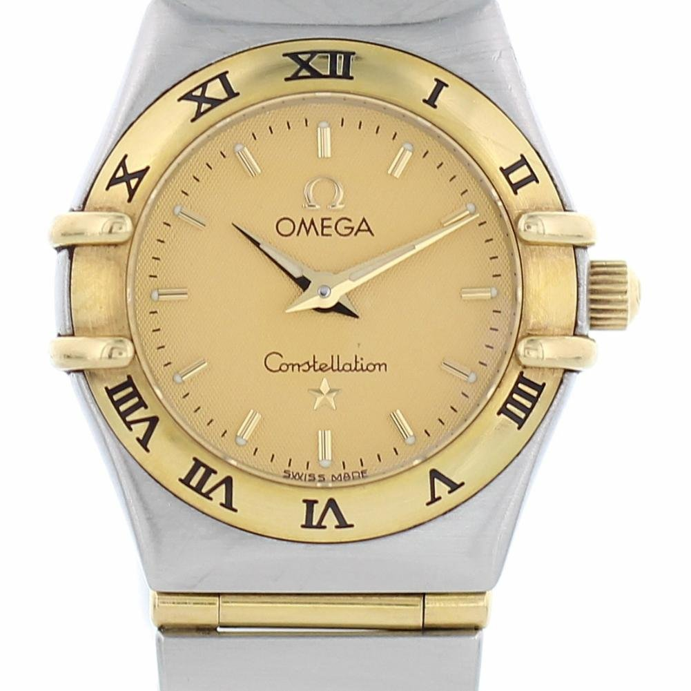 Omega Constellation quartz womens Watch 795.1203 (Certified Pre-owned)