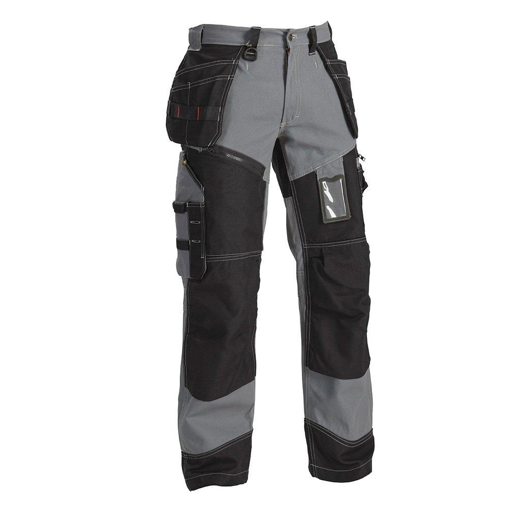 Blaklä der 150013709499C44 X1500 Pantalon artisan Taille C44 Gris/Noir Blakläder