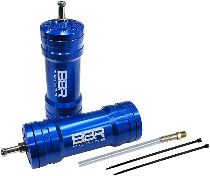 JRL Power Boost Bottle For 30cc 49cc 80cc 2-Circle Quad Dirt Bike Pocket Rocket Black