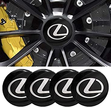 Bonifion 4 x 56mm Car Lettering BBS Wheel Center Cap Sticker Wheel Emblem Badge Logo Stickers fit audi silver