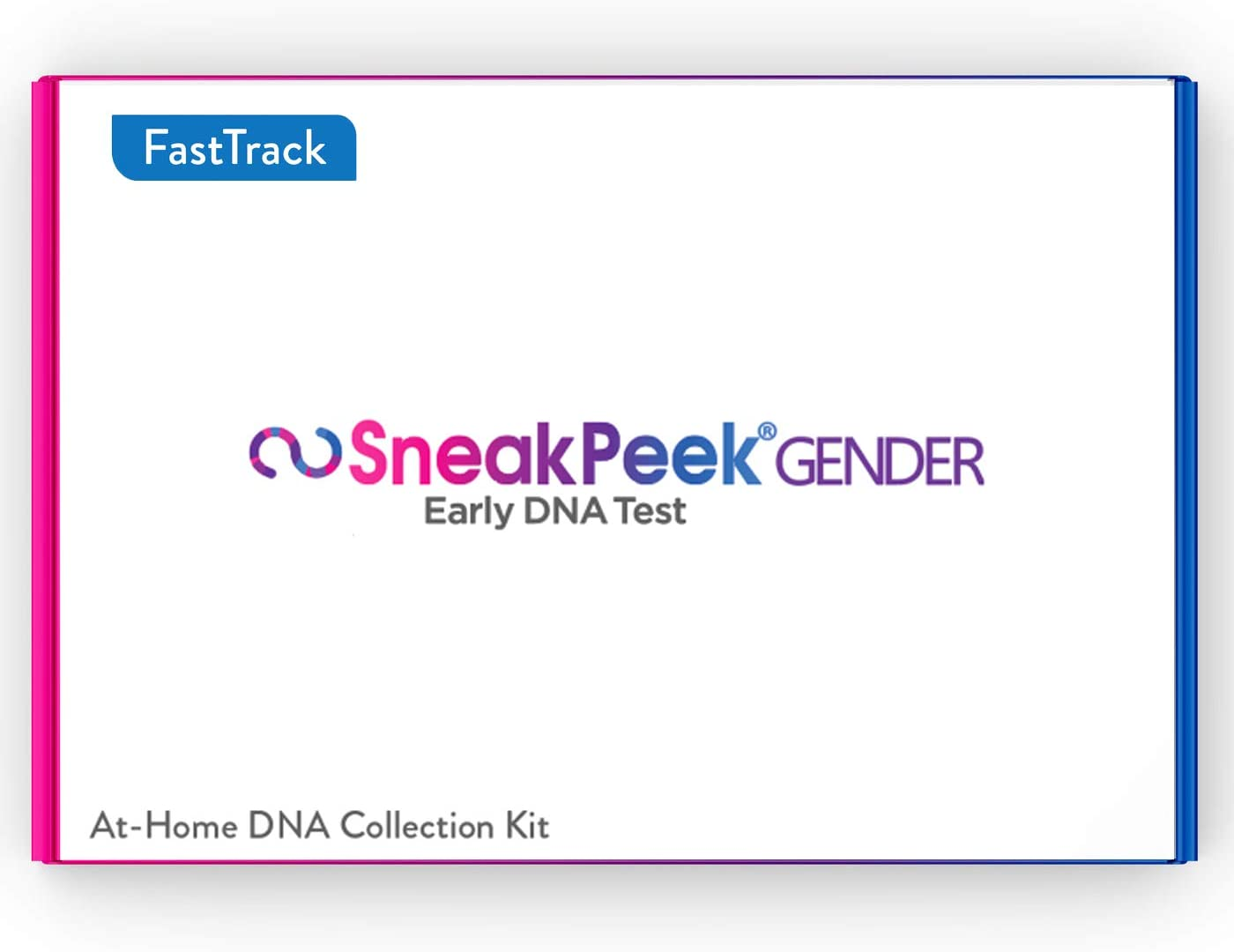 SneakPeek Early Gender at-Home DNA Test Kit – Predicts Baby Gender at 99.9% Accuracy¹ (Fast Track)