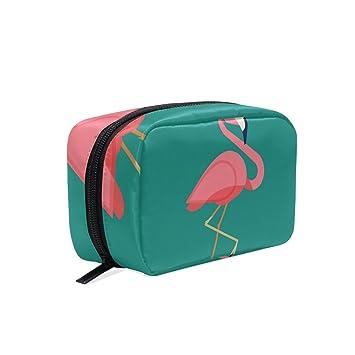 Funny Flamingo - Bolsa de maquillaje para mujer, diseño de ...