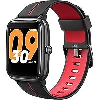 TicKasa Vibrant Fitness smartwatch dla mężczyzn i kobiet, wodoszczelność do 5 ATM, monitorowanie tętna, wbudowany GPS…