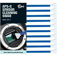 UES DSLR or SLR Digital Camera Cleaning Swab for APS-C Sensors, Blue, 10 swabs (DDR-15)