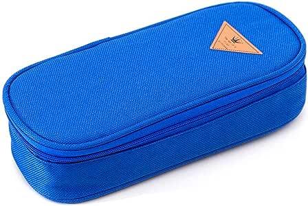 Estuche Escolar Grande, Everpertuk Estuche de Lápices Color Caramelo Simple de Gran Capacidad: Amazon.es: Oficina y papelería