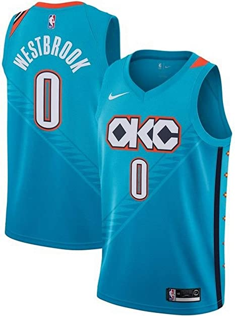 Nike Russell Westbrook Oklahoma City Thunder NBA City Edition ...
