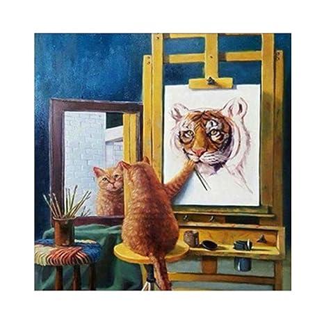 Patato001 - Broca parcial de pintura de diamante de tigre para ...
