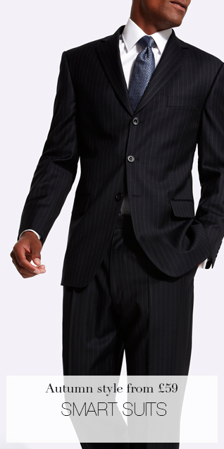 Autumn style from £59 SMART SUITS