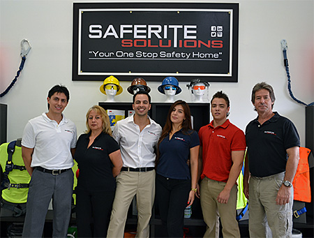 Our Saferite Solutions Team
