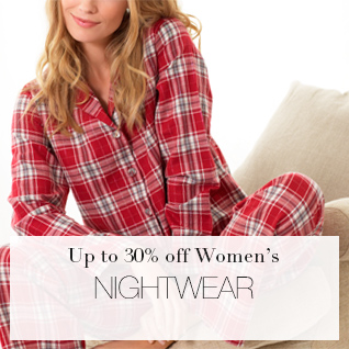 Up to 30% off Womens Nightwear