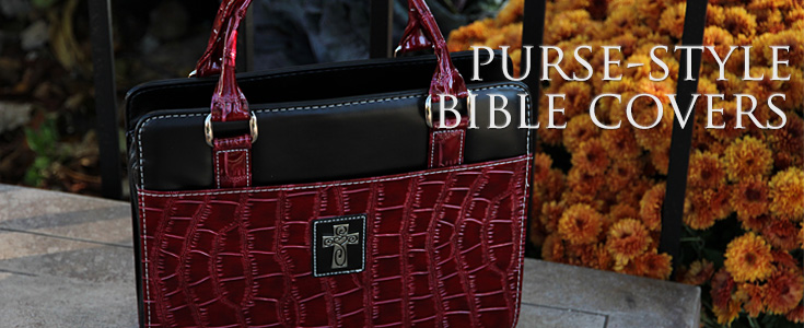 Purse Style Fashion Bible / Book Covers for Women