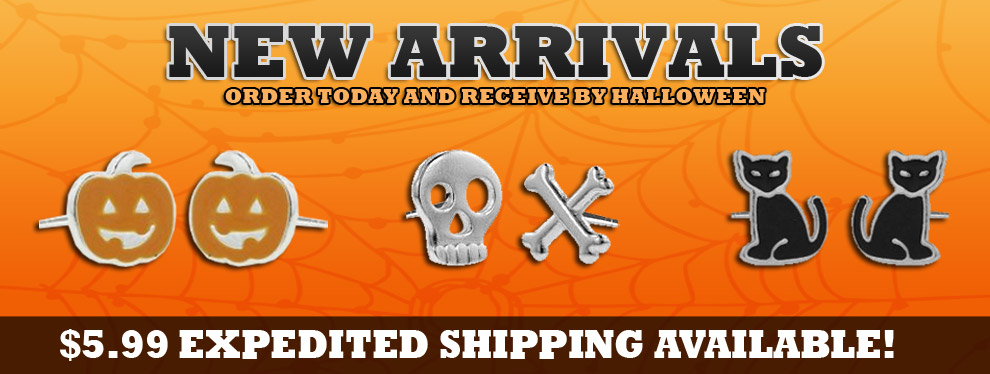 New Halloween Jewelry - $5.99 Expedited Shipping available!